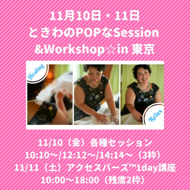 11月☆東京&横浜での色々お知らせ♪