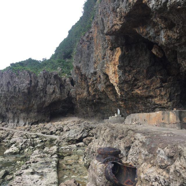 【龍の旅:糸満 大度海岸】龍の背を渡る拝所